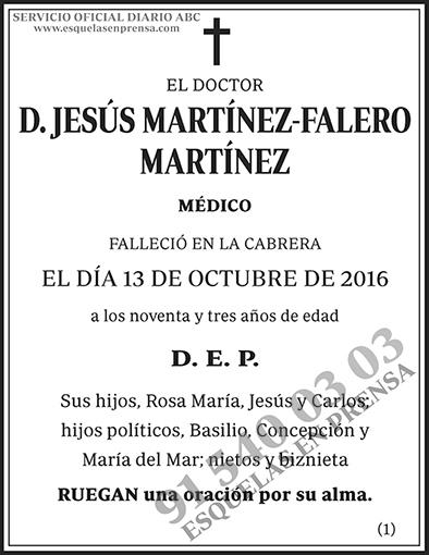 Jesús Martínez-Falero Martínez